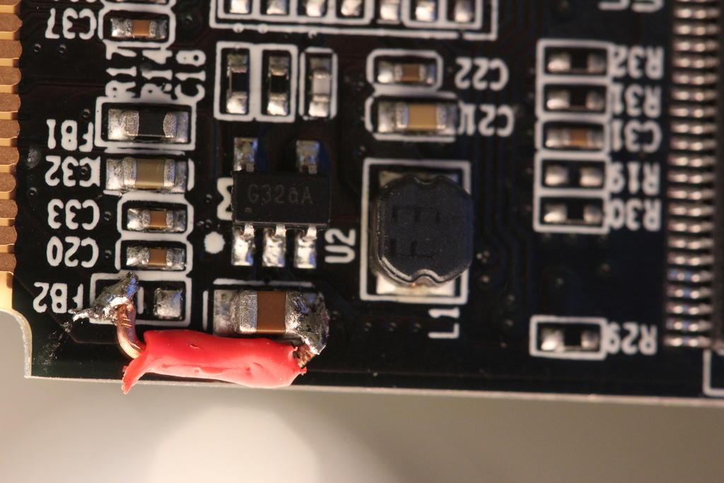 SSD aprés bidouille